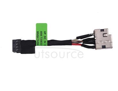 DC Power Jack Connector Flex Cable for HP Pavilion 15 / 15-n / 15-p & Envy 14 / 14-u