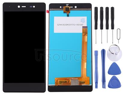 LCD Screen and Digitizer Full Assembly for Wiko Fever 4G (Black)