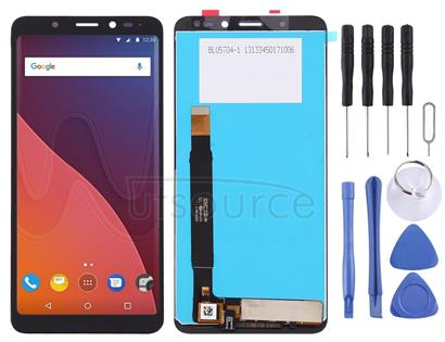 LCD Screen and Digitizer Full Assembly for Wiko View(Black)