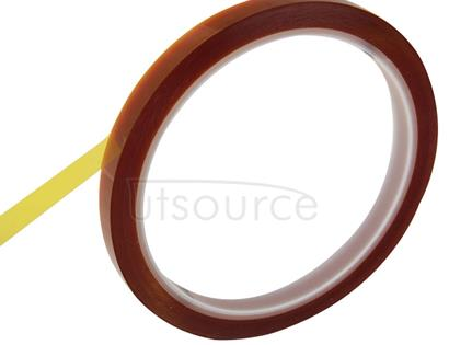8mm High Temperature Resistant Dedicated Polyimide Tape for BGA PCB SMT Soldering, Length: 33m