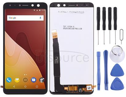 LCD Screen and Digitizer Full Assembly for Wiko View Prime(Black)