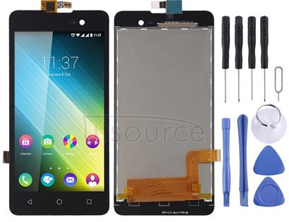LCD Screen and Digitizer Full Assembly for Wiko Lenny 2 (Black)