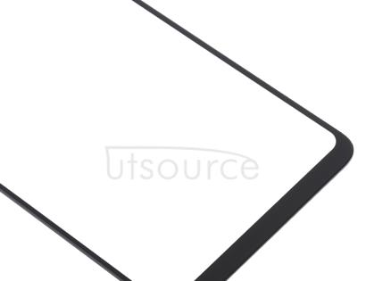 Front Screen Outer Glass Lens for Xiaomi Mi 8 Lite(Black)