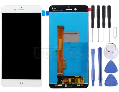 For ZTE Nubia Z17 Mini / NX569J / NX569H LCD Screen and Digitizer Full Assembly(White)