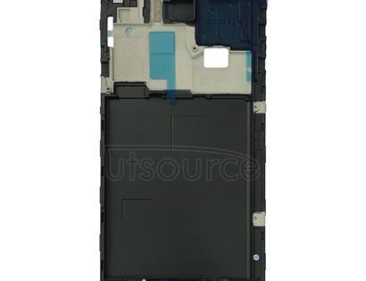 Front Housing LCD Frame Bezel Plate for Galaxy J4, J400F/DS, J400G/DS(Black)