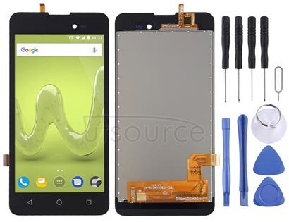 LCD Screen and Digitizer Full Assembly for Wiko Sunny 2 Plus (Black)