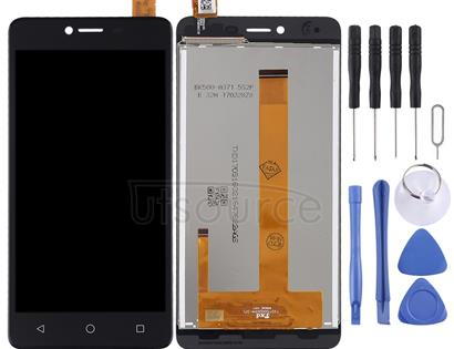 LCD Screen and Digitizer Full Assembly for Wiko Jerry Max (Black)