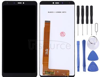 LCD Screen and Digitizer Full Assembly for Wiko View Max (Black)
