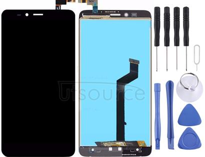 For ZTE Imperial MAX / Z963 LCD Screen and Digitizer Full Assembly(Black)