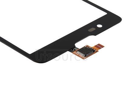 For ZTE Red Bull V5 5.0 inch Touch Panel (Black)