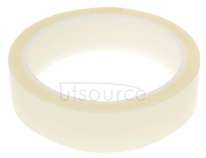 24mm High Temperature Resistant Clear Heat Dedicated Polyimide Tape with Silicone Adhesive, Length: 33m