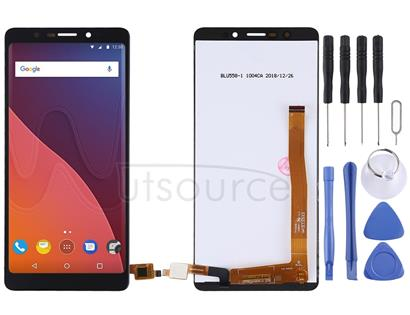LCD Screen and Digitizer Full Assembly for Wiko View Lite (Black)