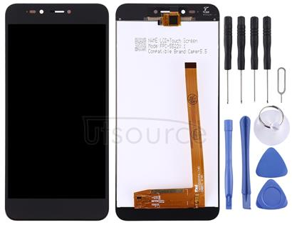 LCD Screen and Digitizer Full Assembly for Wiko U Pulse (Black)