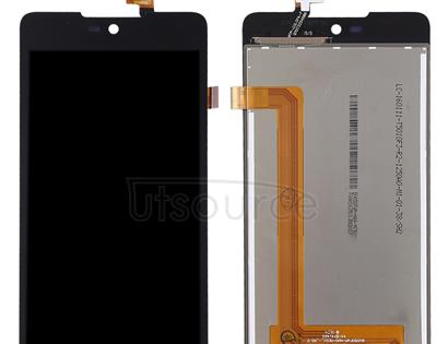 LCD Screen and Digitizer Full Assembly for Wiko Rainbow Lite (Black)