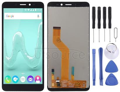 LCD Screen and Digitizer Full Assembly for Wiko Sunny 3 (Black)