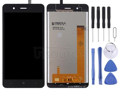 LCD Screen and Digitizer Full Assembly for Wiko Harry (Black)