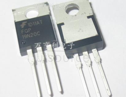 FQP19N20C QFET? N-Channel MOSFET, 11A to 30A, Fairchild Semiconductor