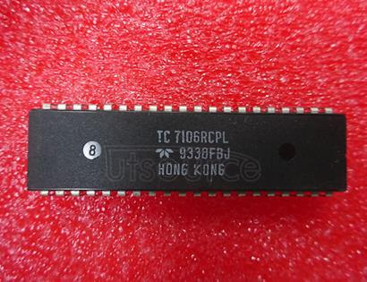 TC7106RCPL 3-1/2 DIGIT A/D CONVERTERS