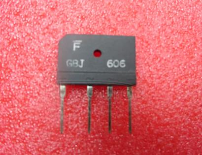GBJ606 6.0A GLASS PASSIVATED BRIDGE RECTIFIER