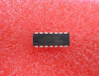 CD4016 Quad   Analog   Switch/Quad   Multiplexer