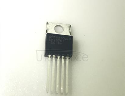 LM2576T-5.0 Buck Switching Regulator IC Positive Fixed 5V 1 Output 3A TO-220-5
