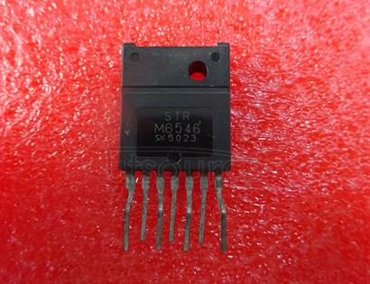 STRM6546 OFF-LINE SWITCHING REGULATOR WITH POWER MOSFET OUTPUT