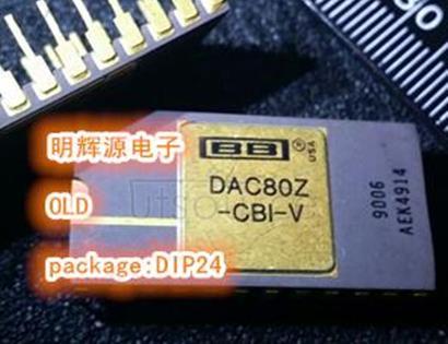 DAC80Z-CBI-V Replaced by DAC811 : Monolithic 12-Bit Digital-to-Analog Converters 24-CDIP SB 0 to 70