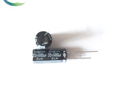 RUBYCON 35V680UF 10X23MM DIP Capacitors 35ZLH680MEFC10X23