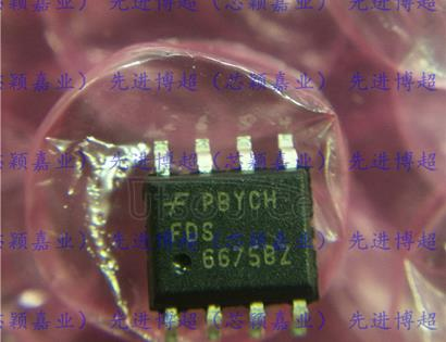 FDS6675BZ P-Channel PowerTrench MOSFET -30V, -11A, 13mOhm
