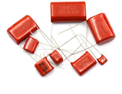 CBB Capacitor CL Capacitor CL21X CL21 100V823J 82NF 0.082UF Pitch P=5MM ±5%