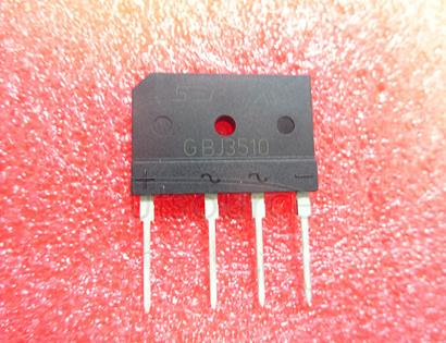 GBJ3510 35  Amp   Glass   Passivated   Bridge   Rectifier  50 to  1000   Volts