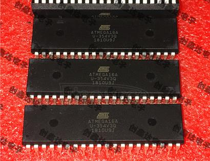 ATMEGA16A-PU ATMEGA16A-U8 bit microcontroller microcontroller chip integrated circuit storage IC 8-bit Microcontroller with 16K Bytes In-System Programmable Flash