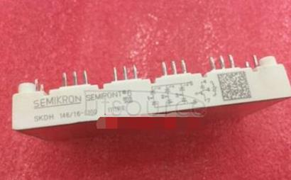 SKDH146/16-L100 3-Phase Bridge Rectifier + IGBT braking chopper