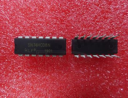 SN74HC08N IC GATE AND 4CH 2-INP 14DIP