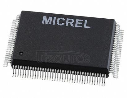 KSZ8862-16MQL-FX Ethernet Switch 10/100 Base-FL/FX/T/TX/SX PHY Parallel Interface 128-PQFP (14x20)