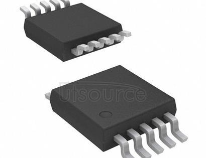TPS60500DGSR 250-mA Adjustable 0.8V-3.3V High-Efficiency Step-Down Charge Pump 10-MSOP -40 to 85