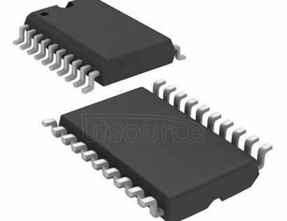 TLV5613IDW 12-Bit, DAC, Parallel, Voltage Out, Pgrmable Settling Time/Pwr Consump., PwrDn 20-SOIC -40 to 85