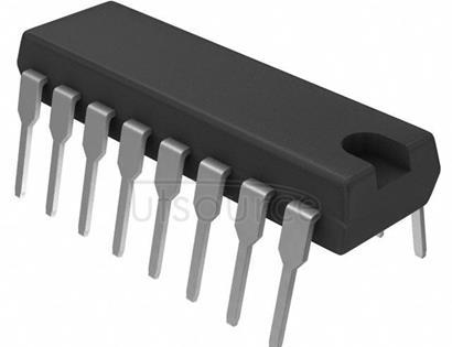 74HC40103N,652 Counter IC Binary Counter 1 Element 8 Bit Positive Edge 16-DIP