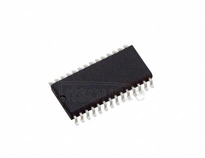 DAC7624UBG4 12-Bit Quad Voltage Output Digital-to-Analog Converter 28-SOIC -40 to 85