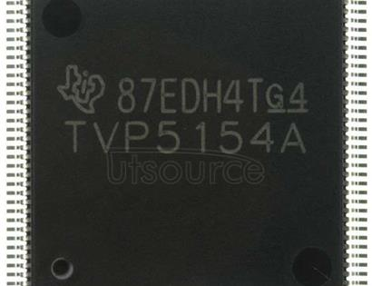 TVP5154PNPR 4-CHANNEL LOW-POWER PAL/NTSC/SECAM VIDEO DECODER WITH INDEPENDENT SCALERS AND FAST LOCK