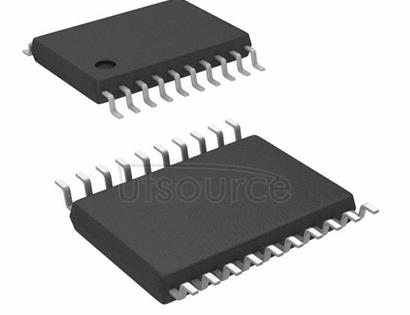 "8545AG-02LFT Clock Fanout Buffer (Distribution), Multiplexer IC 2:4 350MHz 20-TSSOP (0.173"", 4.40mm Width)"