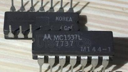 MC1537L MATCHED DUAL OPERATIONAL AMPLIFIERS