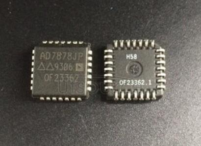 AD7878JP LC2MOS Complete 12-Bit 100 kHz Sampling ADC with DSP Interface