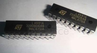 L4981 POWER FACTOR CORRECTOR