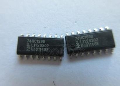 74HC139 Dual 2-to-4 line decoder/demultiplexer