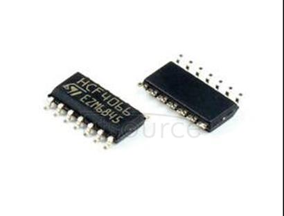 HCF4066M013TR QUAD BILATERAL SWITCH FOR TRANSMISSION OR MULTIPLEXING OF ANALOG OR DIGITAL SIGNALS