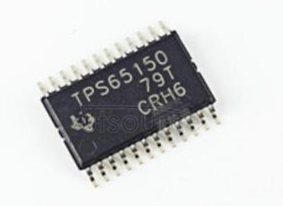 TPS65150PWPR Low Input Voltage, Compact LCD Bias IC With VCOM Buffer