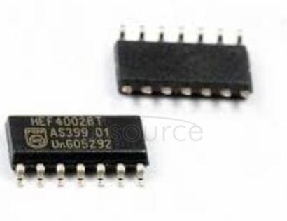 HEF4002BT Dual 4-input NOR gate
