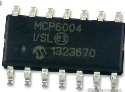 MCP6004-I/SL 1 MHz, Low-Power Op Amp