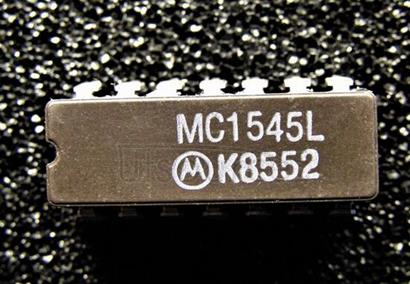 MC1545L GATE-CONTROLLED 2-CHANNEL-INPUT VIDEO AMPLIFIER
